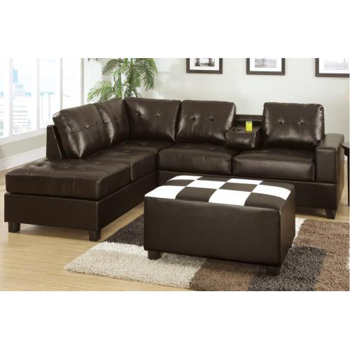 Gallery - Sectional W/console