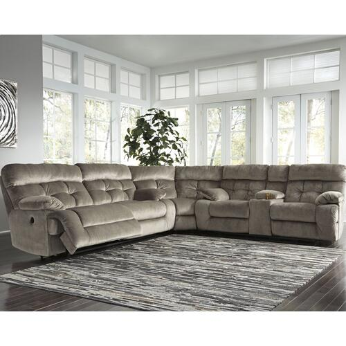Brassville 3-piece Power Reclining Sectional