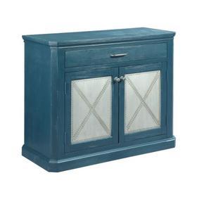 Metal Rivet Door Cabinet