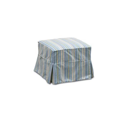 Capris Furniture - 443 Slip Cover Ottoman