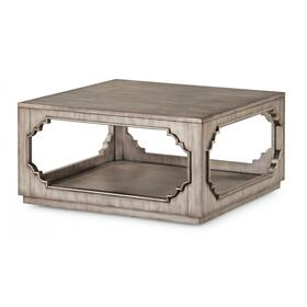 Vogue Square Coffee Table with Casters