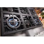 Kitchenaid KitchenAid® 36'' Smart Commercial-Style Dual Fuel Range with 6 Burners - Imperial Black