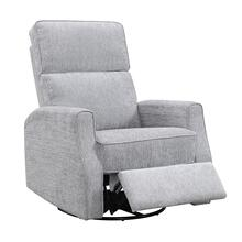 Tabor Swivel Reclining Glider Gray