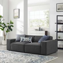 Restore 2-Piece Sectional Sofa in Charcoal