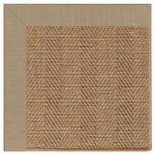 "Islamorada-Herringbone Dupione Sand - Rectangle - 24"" x 36"""