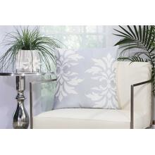"Outdoor Pillows As065 Grey 20"" X 20"" Throw Pillow"