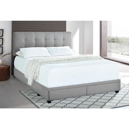 Accentrics Home - Queen Storage Bed - Glacier