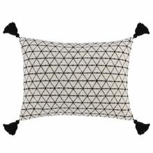See Details - Bree Ivory Black Pillow