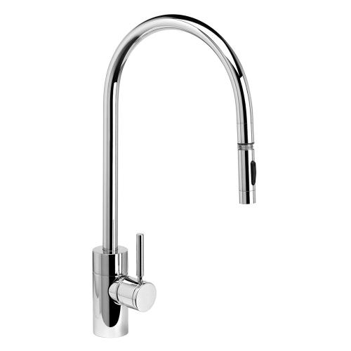 Contemporary Extended Reach PLP Pulldown Faucet - 5300 - Waterstone Luxury Kitchen Faucets