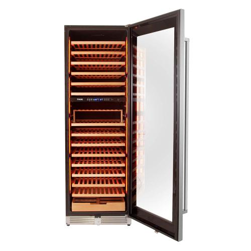 24 Inch Dual Zone Wine Cooler, 162 Wine Bottle Capacity