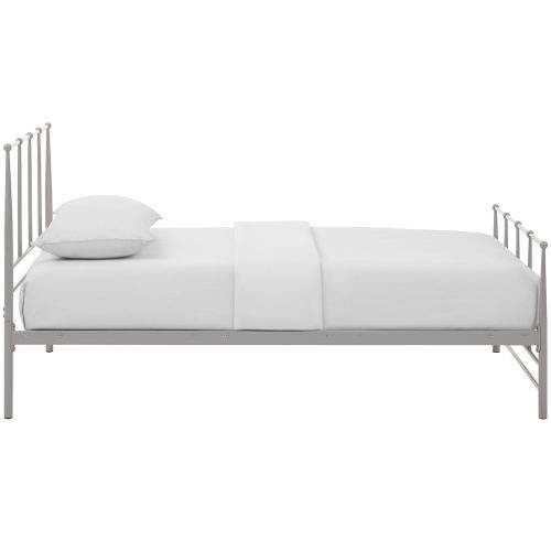 Modway - Estate Twin Bed in Gray