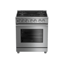 "30"" Stainless Steel Pro-Style Gas Range"