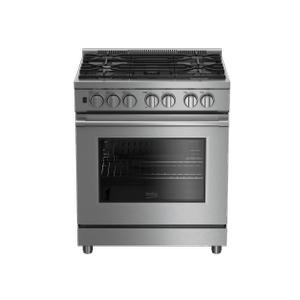 "Beko30"" Stainless Steel Pro-Style Gas Range"