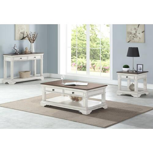 New Classic Furniture - ANASTASIA COCKTAIL TABLE (with Casters)