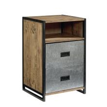 NIGHTSTAND,METAL- SALVAGE/KETT