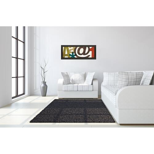 """Classy Art - """"Punctuated III"""" By Micheal Mullan Framed Print Wall Art"""