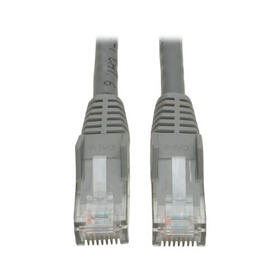Cat6 Gigabit Snagless Molded (UTP) Ethernet Cable (RJ45 M/M), Gray, 15 ft.