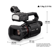 HC-X2000 4K/HD Camcorders