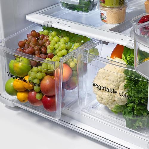 Winia - 18.2 cu. ft. Top Mount Refrigerator - White