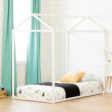 Wooden House Bed Frame - 39''