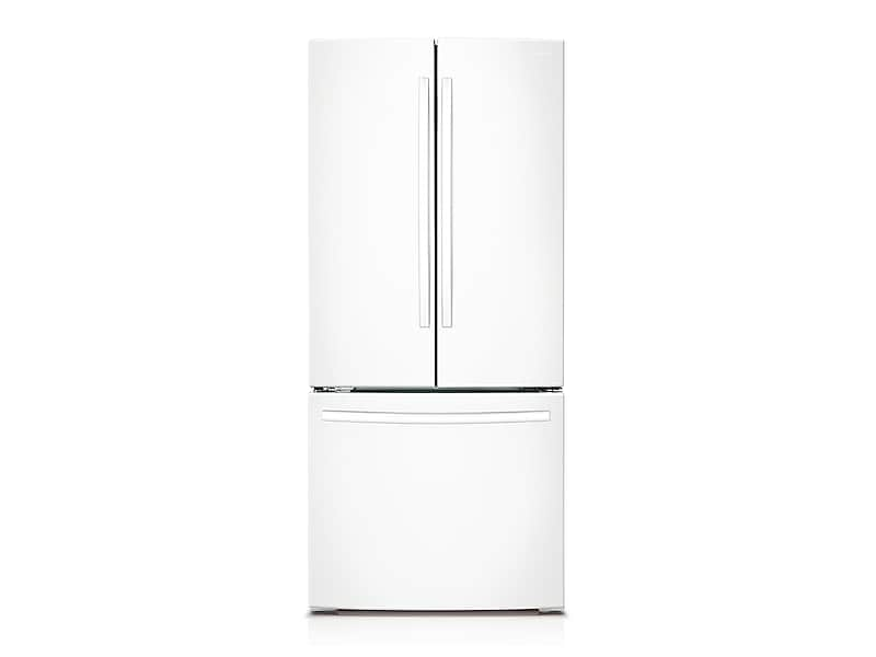Samsung22 Cu. Ft. French Door Refrigerator In White