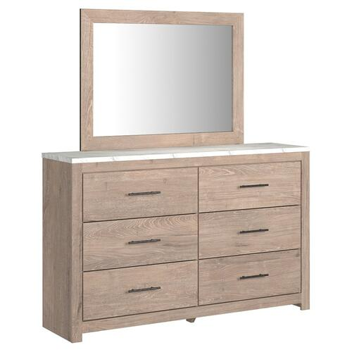 Senniberg Dresser and Mirror