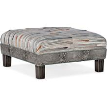 Bradington Young Fair-N-Square Square Ottoman 804-SQ