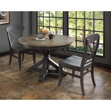 Harper - Round Dining Table Top - Matte Black Finish