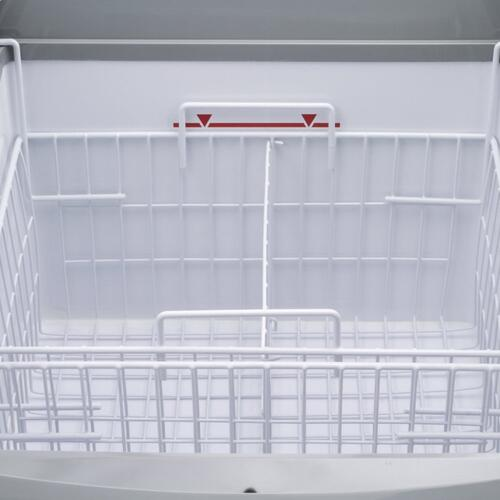 MXF25CHC-2 Chest Freezer Display, Curved Top