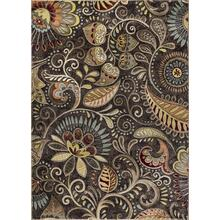 Capri - CPR1010 Brown Rug (Multiple sizes available)