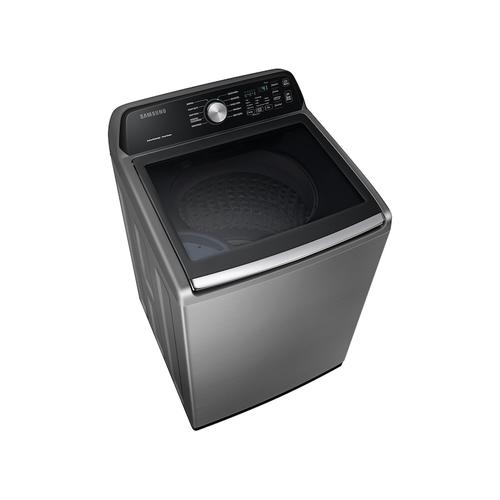4.5 cu. ft. Capacity Top Load Washer with Active WaterJet in Platinum