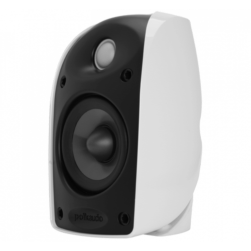 "Blackstone TL Series compact satellite speaker with 3 1/4"" driver and 3/4"" tweeter in White"