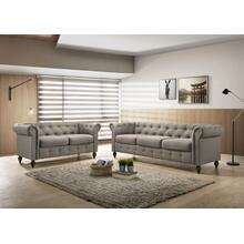 9106 Traditional Tufted Loveseat