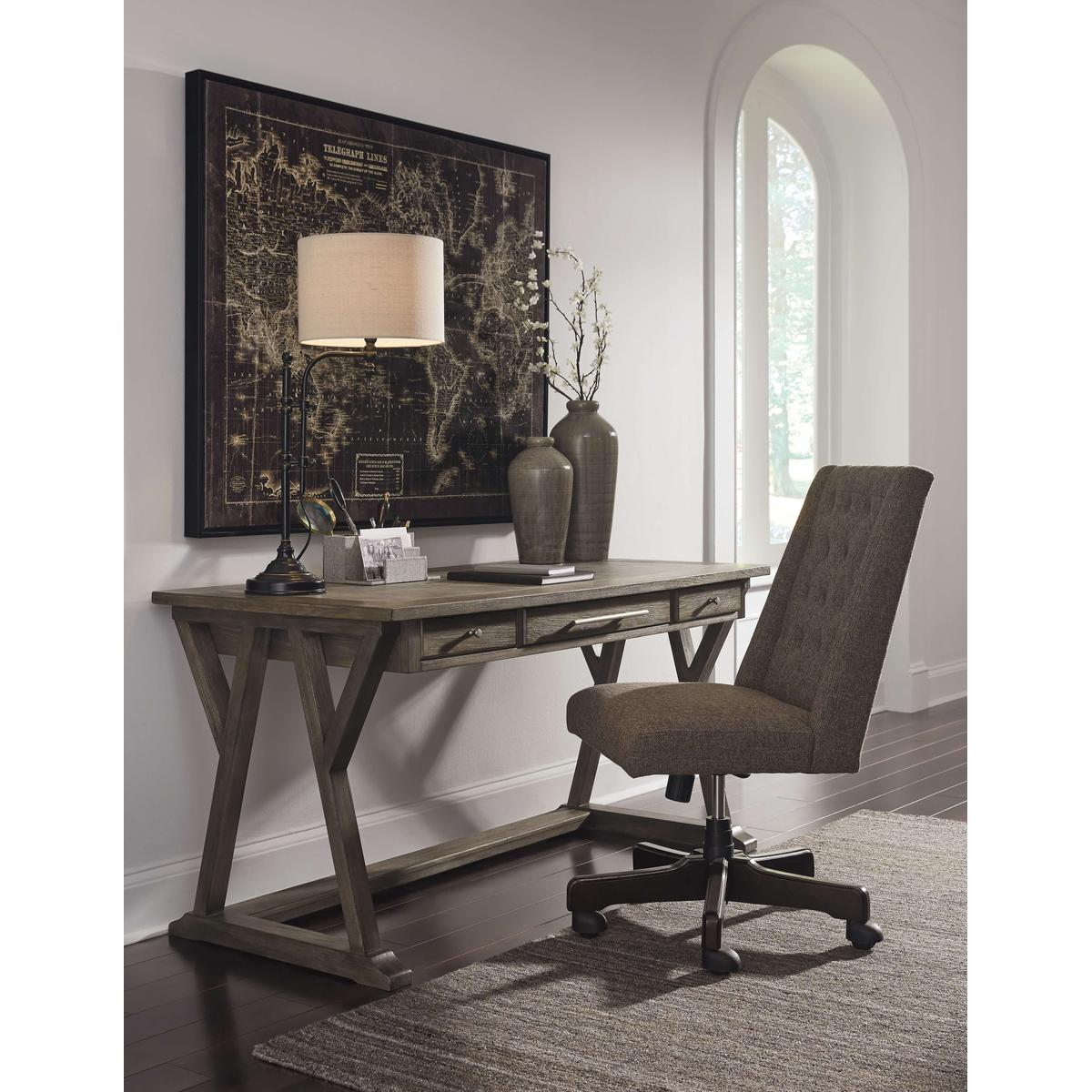 See Details - Home Office Desk With Chair