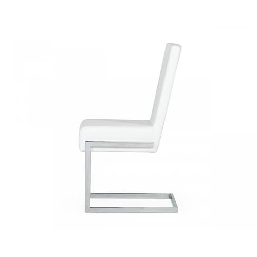 Modrest Batavia - Modern White Dining Chair (Set of 2)