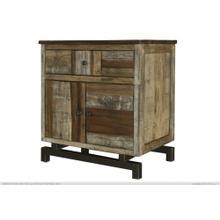 See Details - 1 Drawer,2 Door Nightstand
