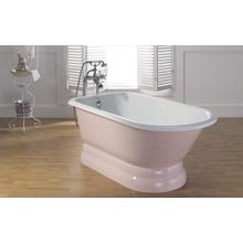 TRADITIONAL Cast Iron Tub with Pedestal Base