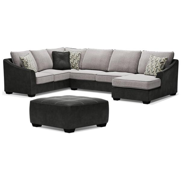 See Details - 3-piece Sectional With Ottoman