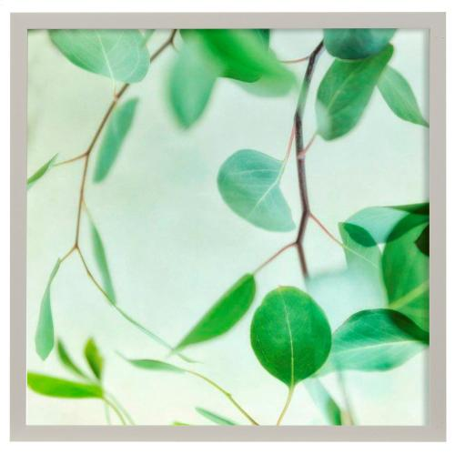 Style Craft - Summer Radiance II  Made in USA  Artist Print  Faux Wood Frame Under Glass  Attached Hanging Har