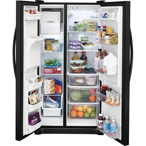 SCRATCH & DENT  Frigidaire 25.5 Cu. Ft. Side-by-Side Refrigerator