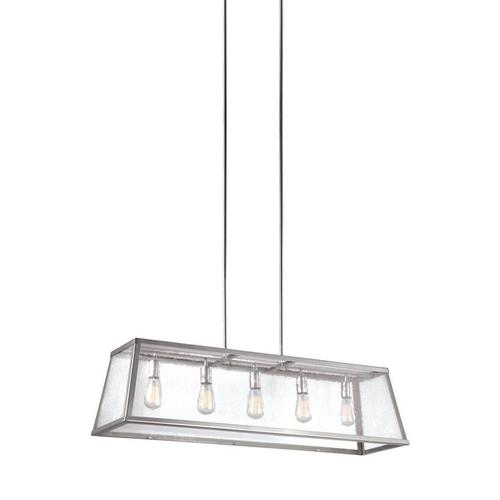 Harrow Linear Chandelier Polished Nickel