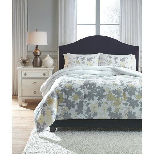Maureen 3-piece Queen Comforter Set