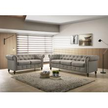 9106 2PC Traditional Tufted Living Room SET