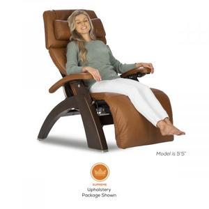 Human Touch - Perfect Chair ® PC-600 Silhouette - Matte Black - Espresso Premium Leather