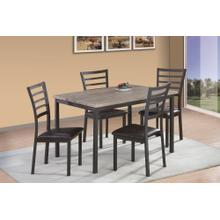 See Details - 7708 Metal Dining Chair