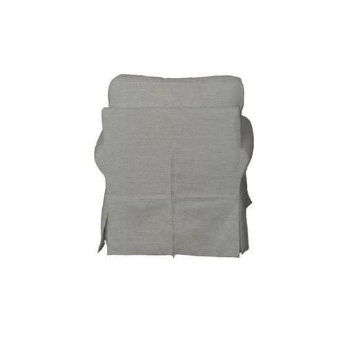 Horizon Slipcovered Swivel Rocking Chair - Color: 391094