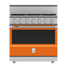 "See Details - 36"" 5-Burner Dual Fuel Range - KRD Series - Citra"