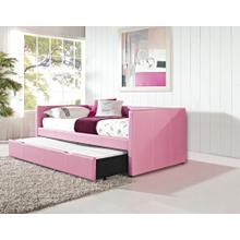Pink Daybed with Trundle Box
