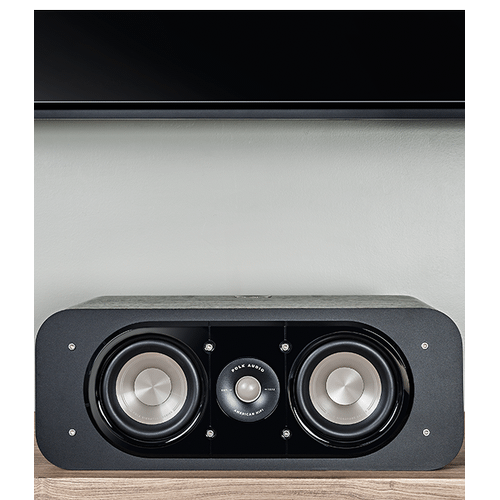 SIGNATURE SERIES HOME THEATER CENTER SPEAKER in Washed Black Walnut