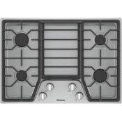 30in gas cooktop, 4 burner